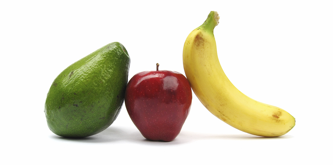 bananas, apples and avocado are all foods recommended during early labor