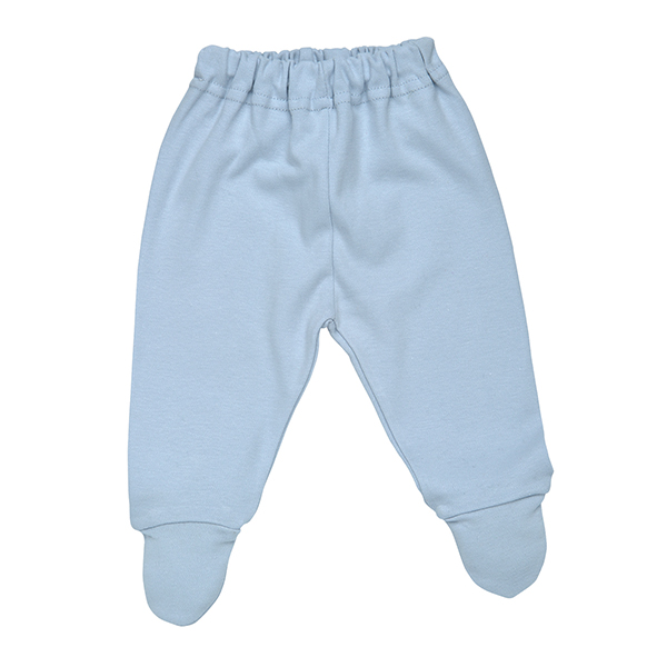 Footed Pants Ice Blue