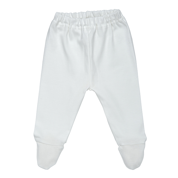Footed Pants Off-White