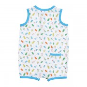 Ice Cream Sunsuit w_ Back Pocket Back