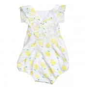 Lemon Apron Sunsuit Back