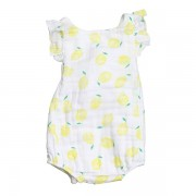 Lemon Apron Sunsuit Front