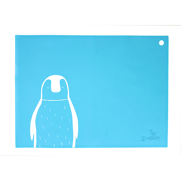 Placemat Blue Penguin