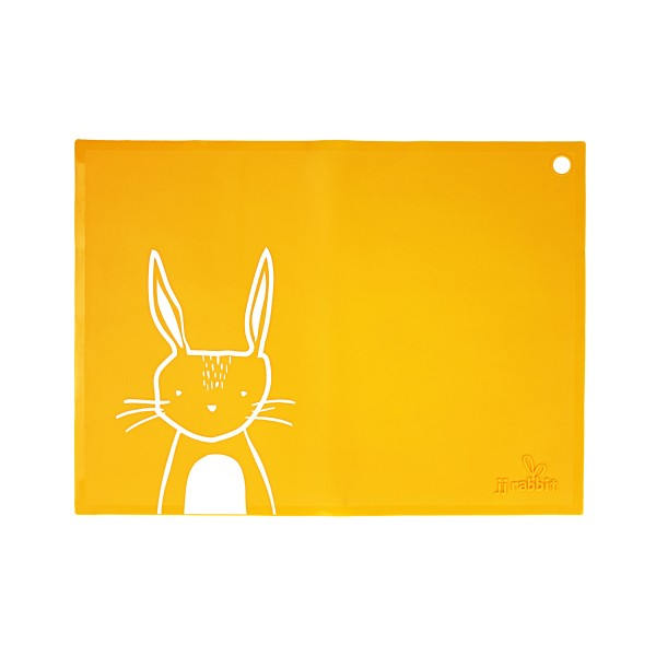 Placemat Orange Rabbit