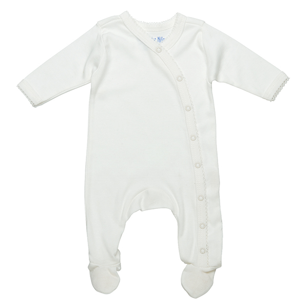 Preemie Footie Off-White