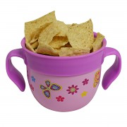 Snack Container Pink Food