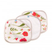 Washcloth Summer Poppy Three