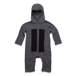 NununuPlaysuitPatchHooded