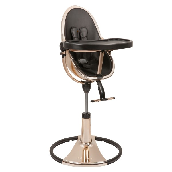 BloomFrescoHighchairSpecialEditionRoseGoldBlack2