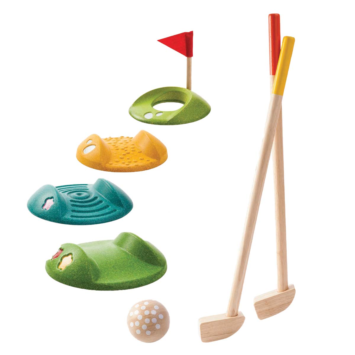 Plan Toys Mini Golf Set Thetot