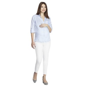 DL1961MaternityJeanFlorenceCropWhite1