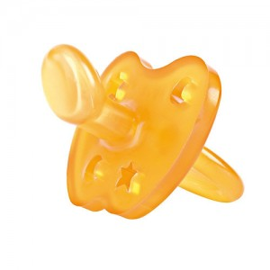 hevea orthodontic pacifier