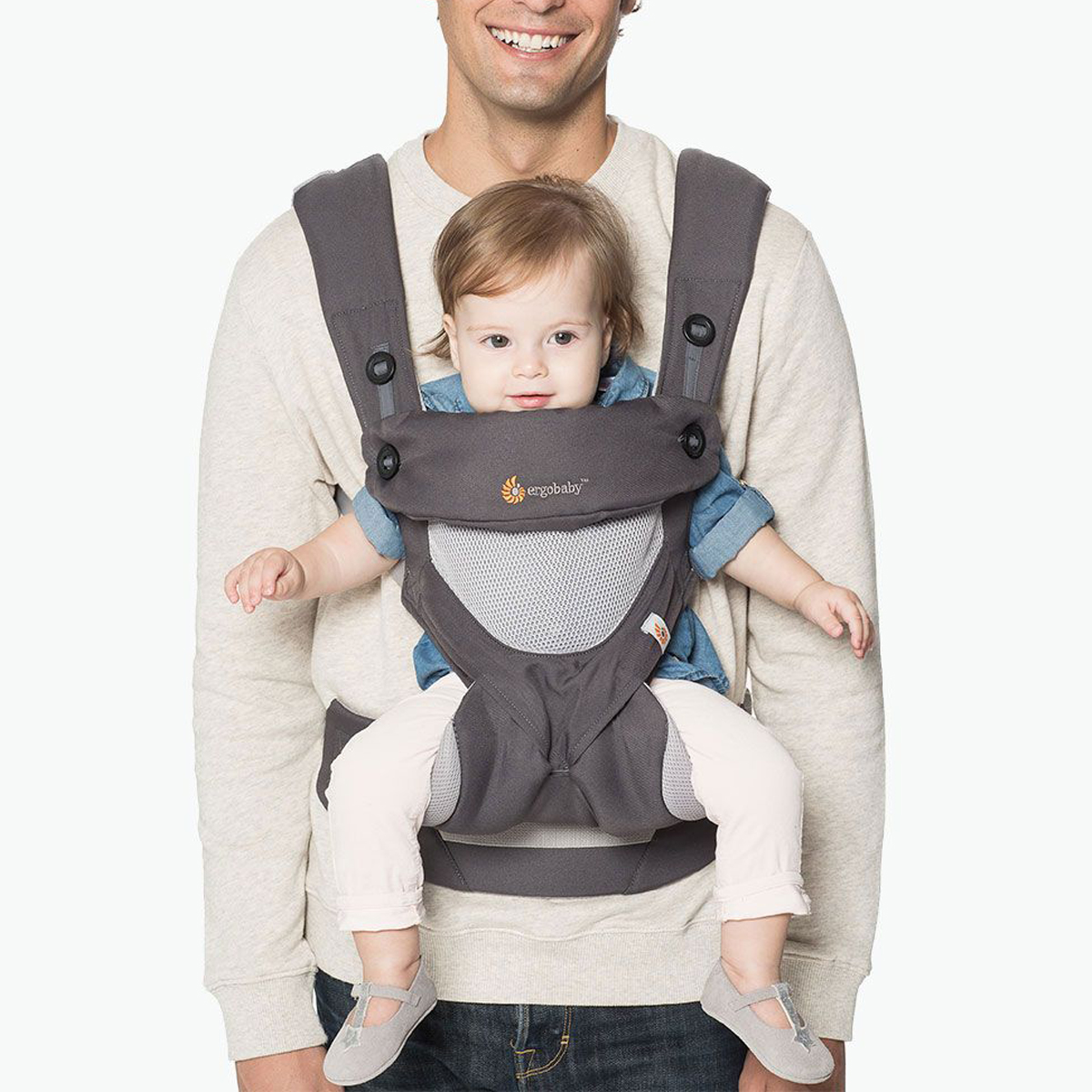 Ergobaby Four Position 360 Cool Air Carrier Thetot