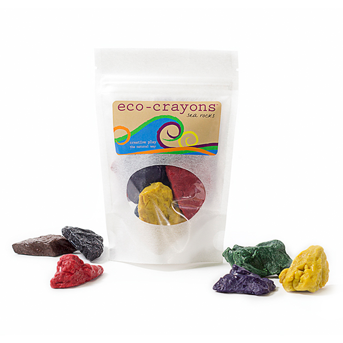 Eco-Kids Sea Rock Eco Crayons