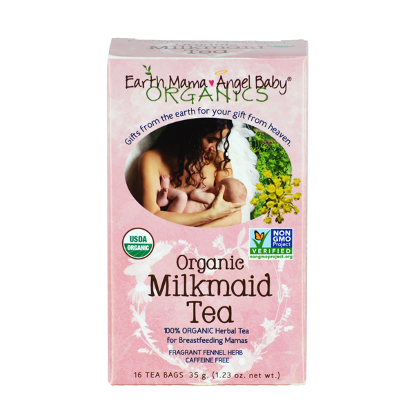 Earth Mama Milkmaid Tea Side