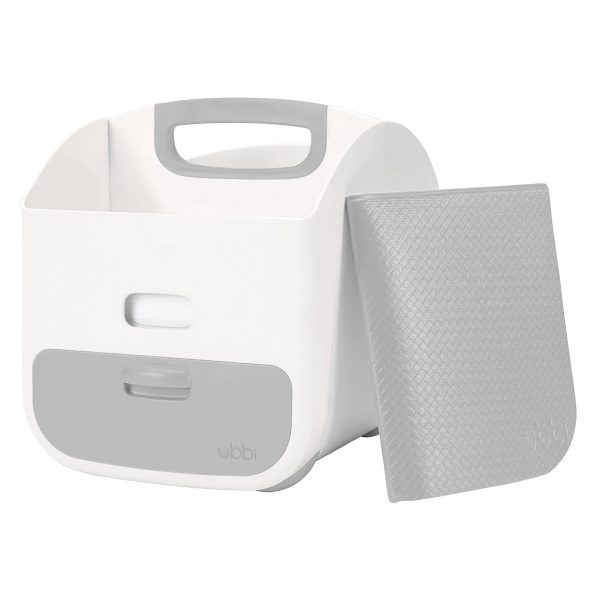 Ubbi Grey Diaper Caddy