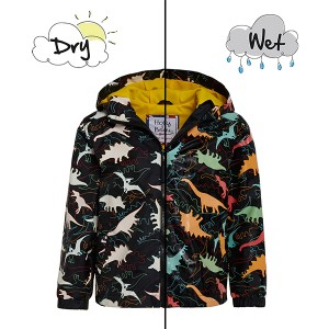 Holly & Beau Color Changing Raincoat - Dinosaur