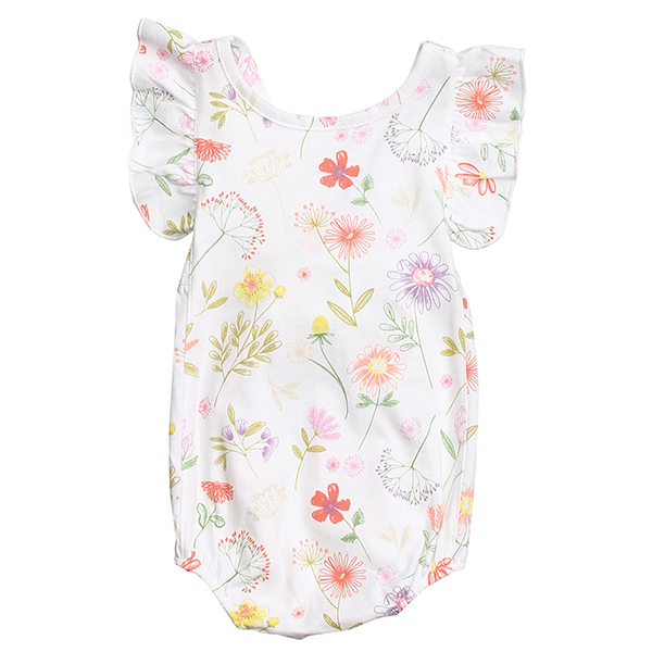 Botanicals Apron Sunsuit Front