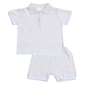 Golf Polo and Short Set Front
