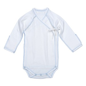 Inside-Out Bodysuit - Off-White w_ Blue