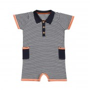 Nautical Polo Shortie Front