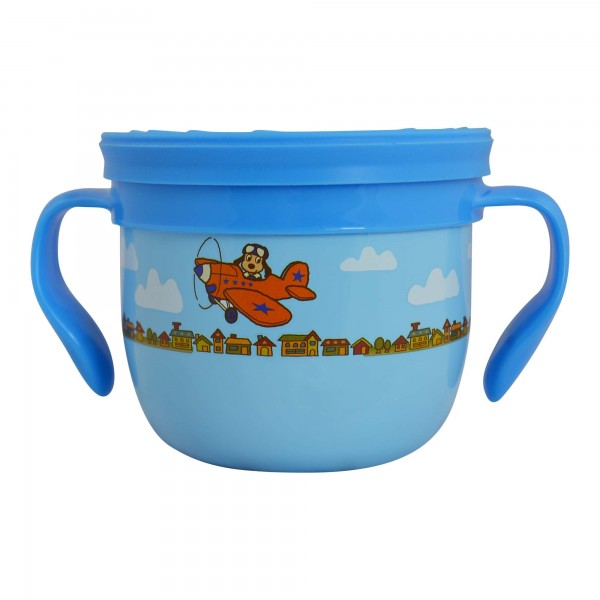 Snack Container Blue