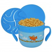 Snack Container Blue Food