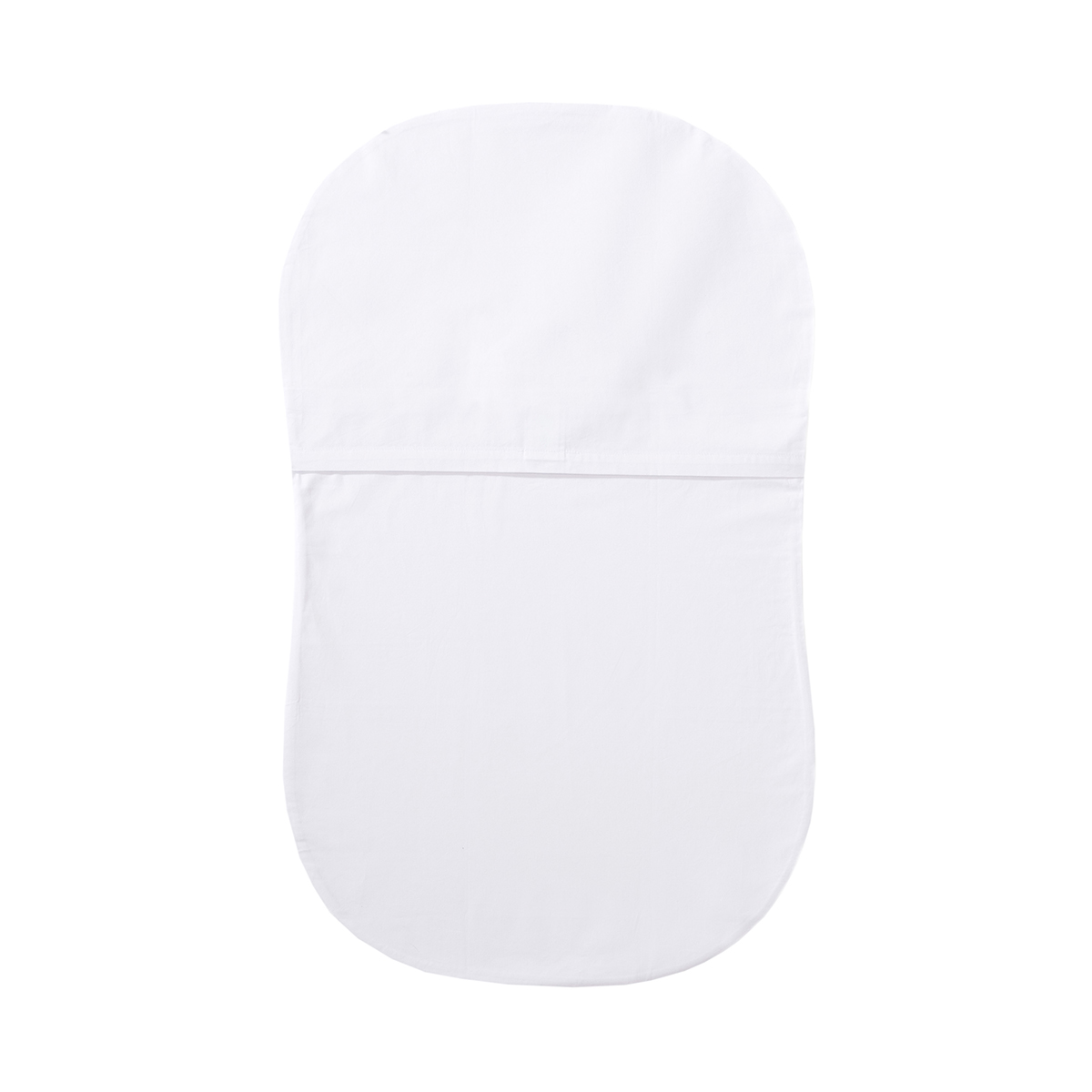 Fitted Sheet White Back