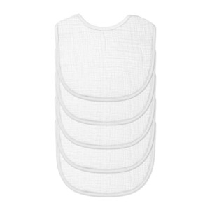 Green Sprouts Muslin Bib 5 Pack