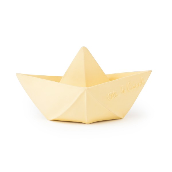 Origami Boat Yellow1