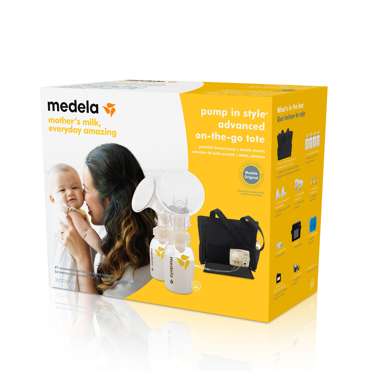 Medela Pump In Style 174 Advanced On The Go Tote Thetot