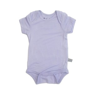 Kyte Baby Short Sleeve Onesie in Solid Lilac