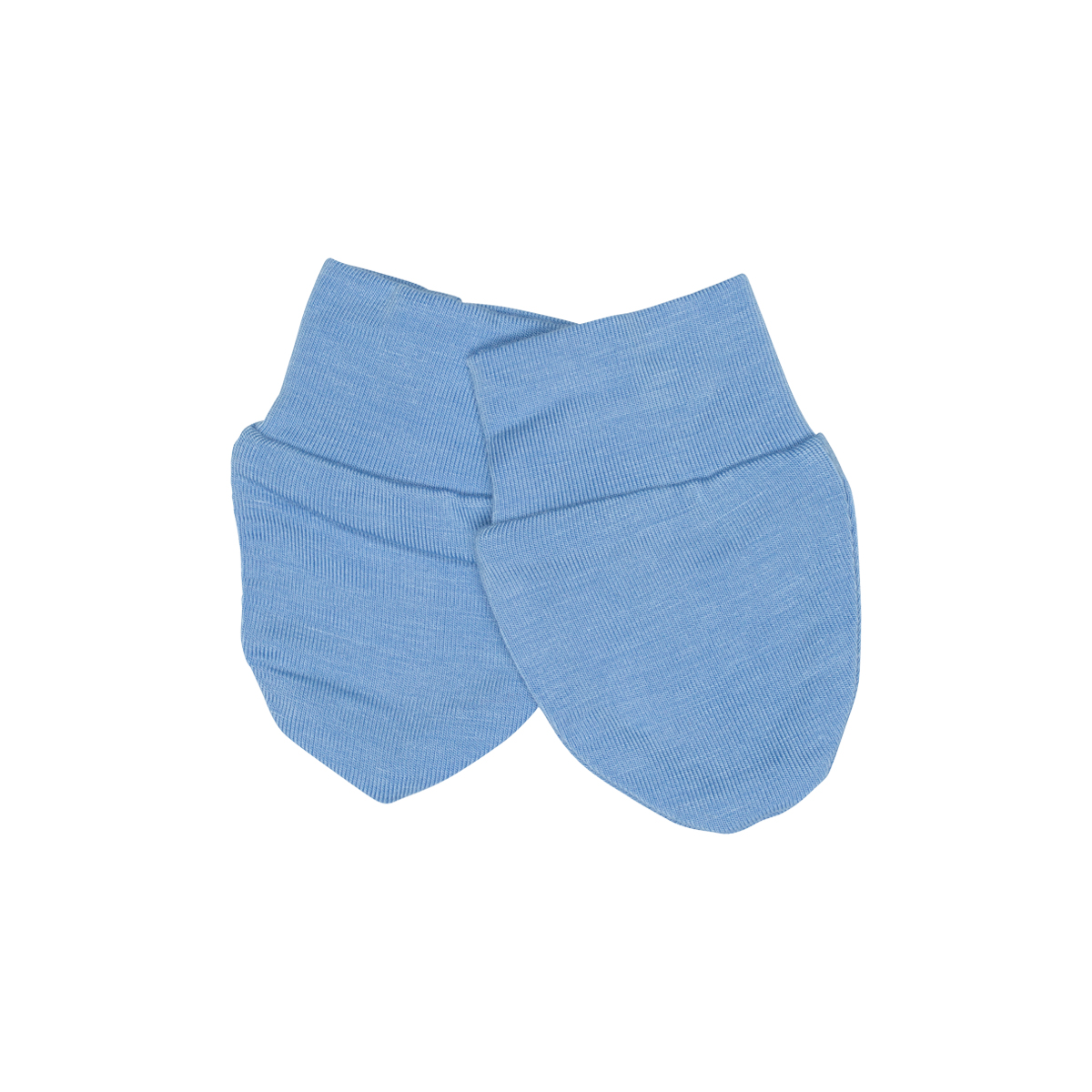 Kyte Baby Bamboo scratch mittens in Sky Blue