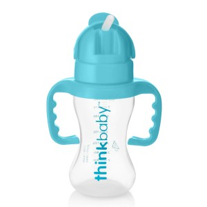 ThinkBaby Thinkster Straw Cup in Blue