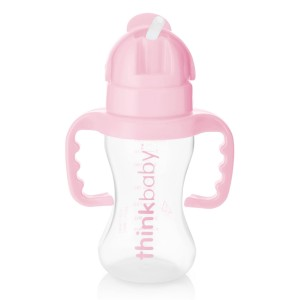 ThinkBaby Thinkster Straw Cup in Pink