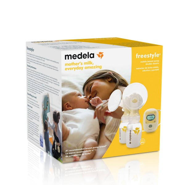 how to use medela freestyle breast pump