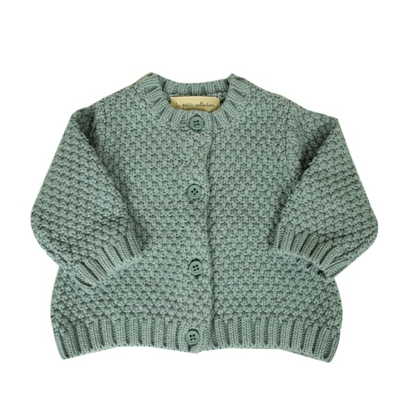 LaPetiteCollectionCardiganGreyGreen