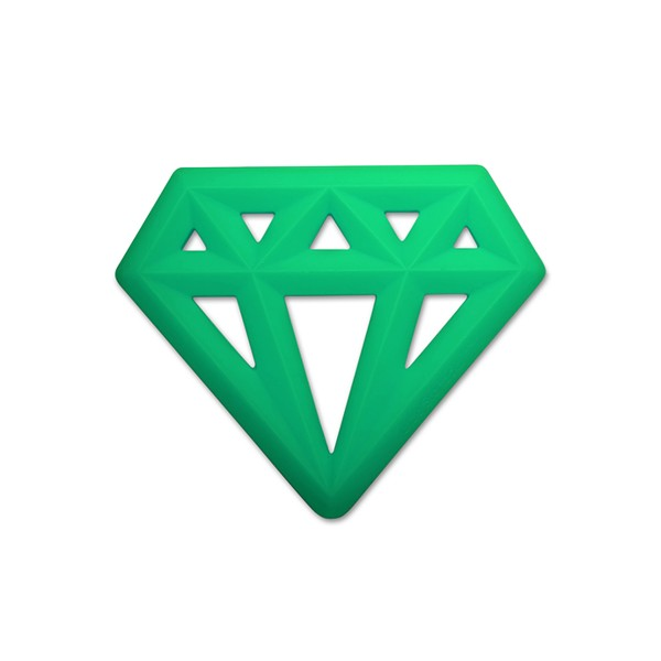 LittleSOTeetherDiamondGreen