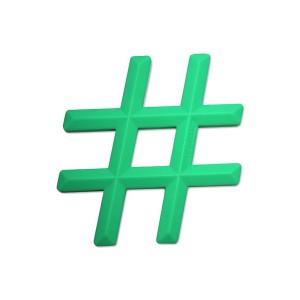LittleSOTeetherHashtagGreen