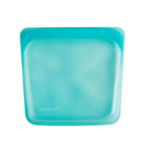 Stasher Silicone Bag in Aqua