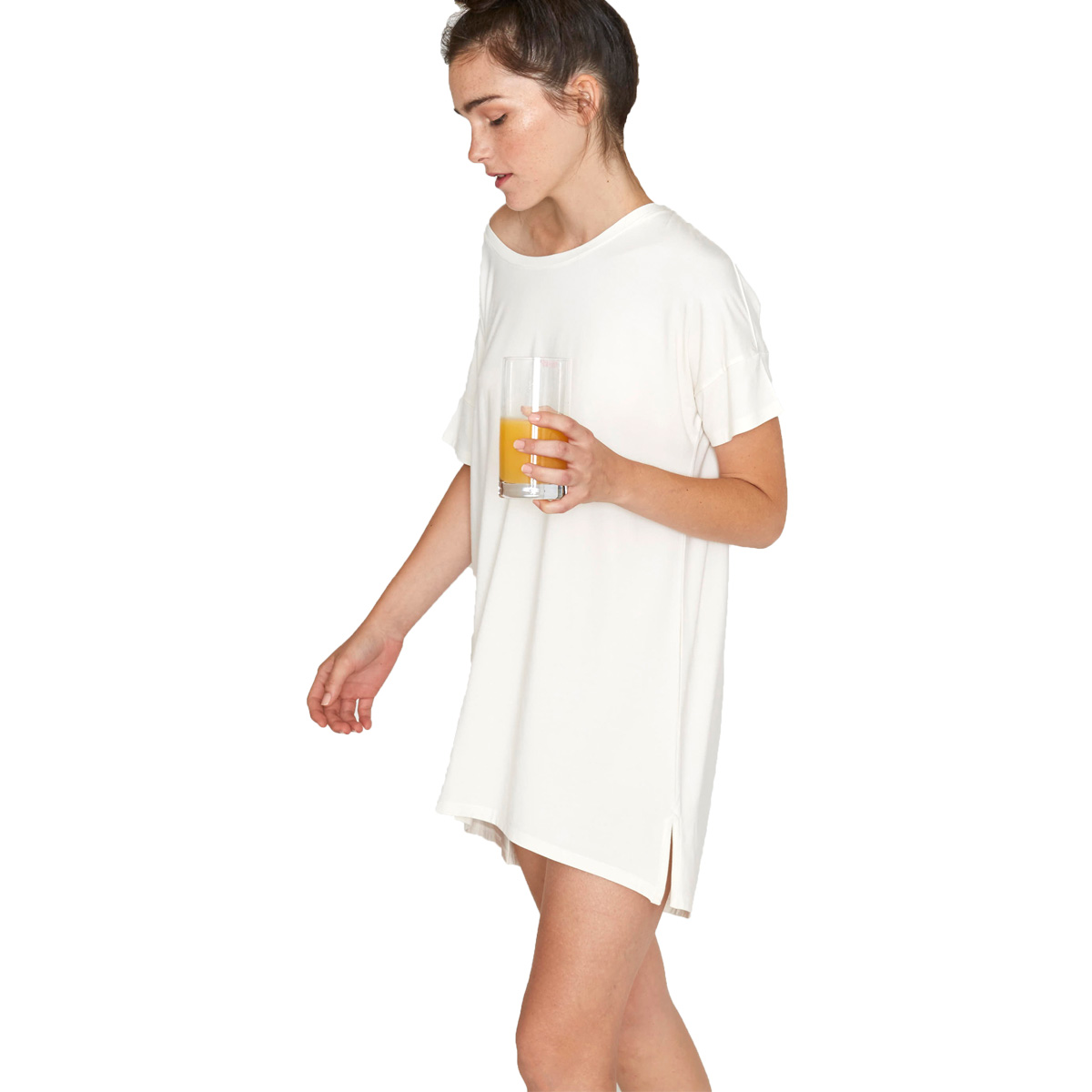 Recliner Women's Bamboo Night-Tee Sleep Dress - TheTot - photo#44