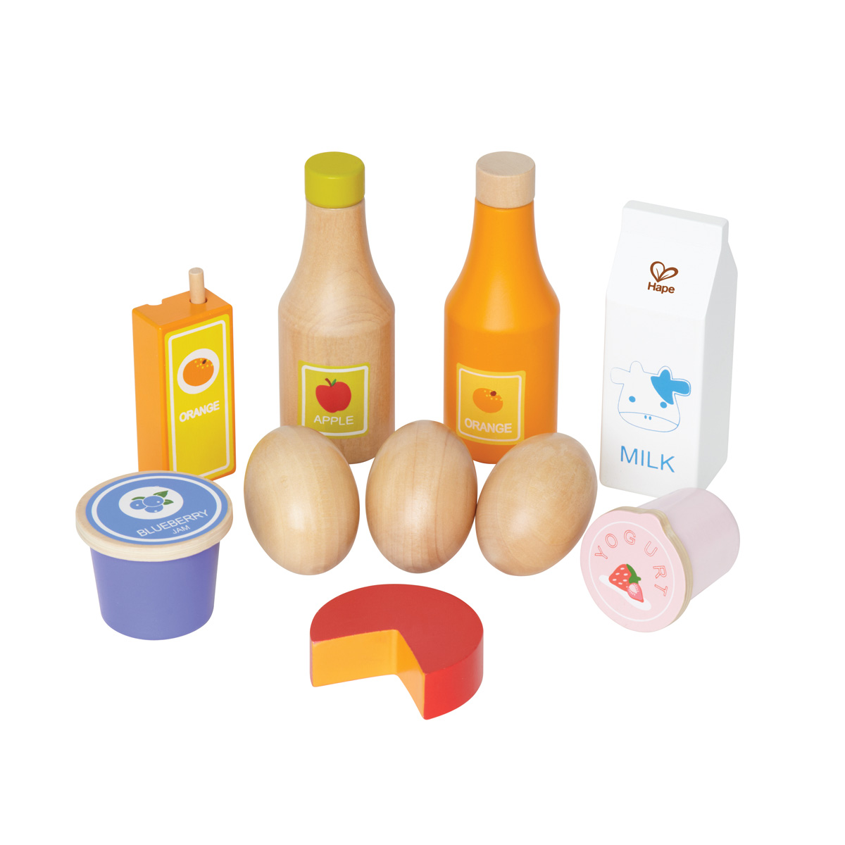 Hape Healthy Basics Wooden Food Set