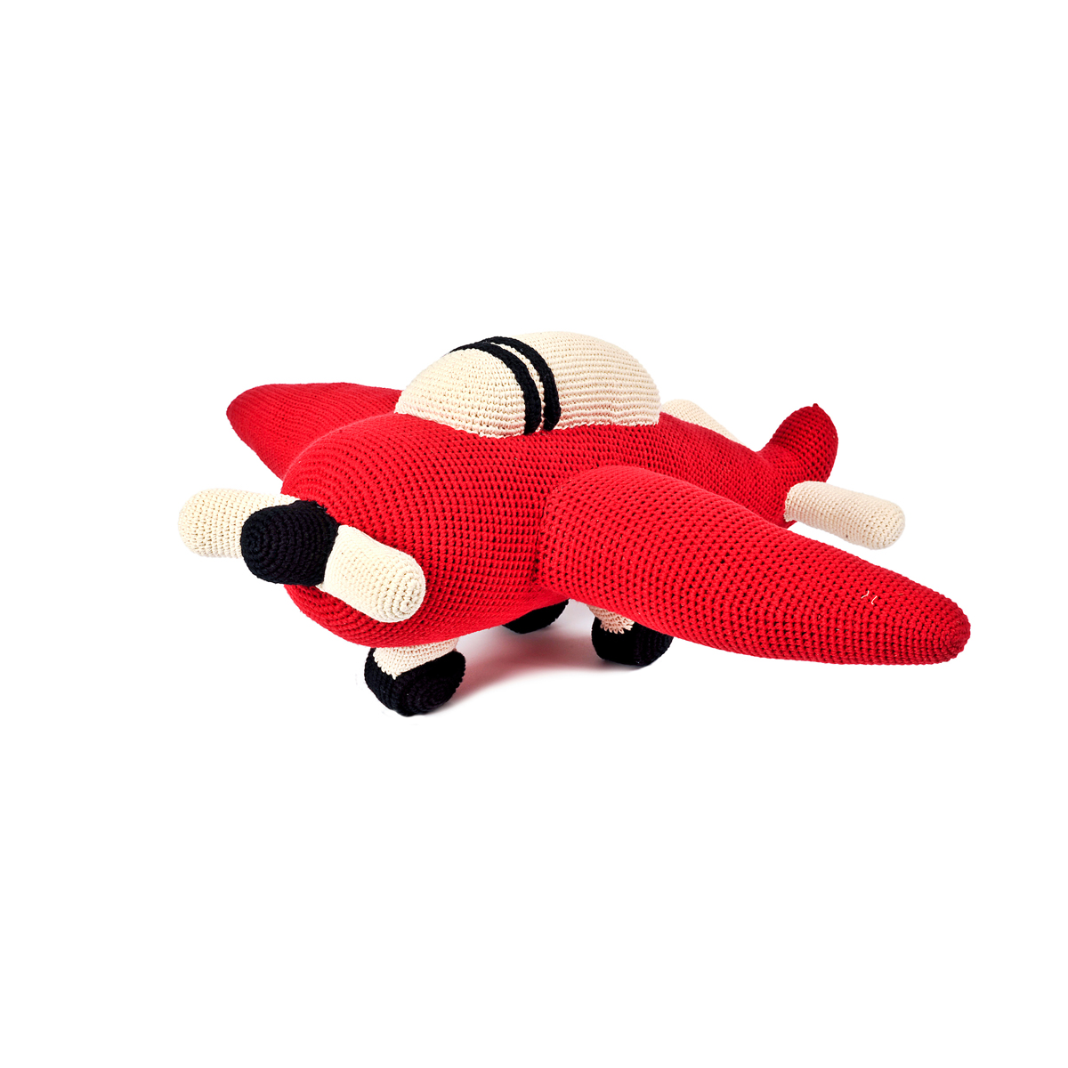 Anne Claire Petit Crocheted Airplane