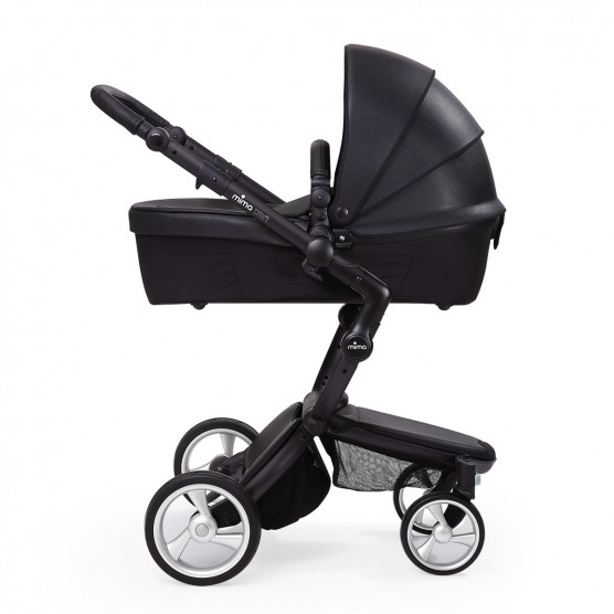 mima xari stroller black and black thetot. Black Bedroom Furniture Sets. Home Design Ideas