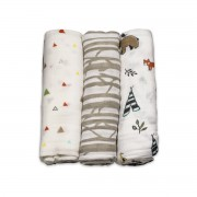 littleunicornblanketmuslin3pkforestfriends1