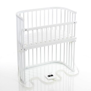 babybay bedside sleeper - white