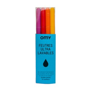 Omy ultra washable felt pens