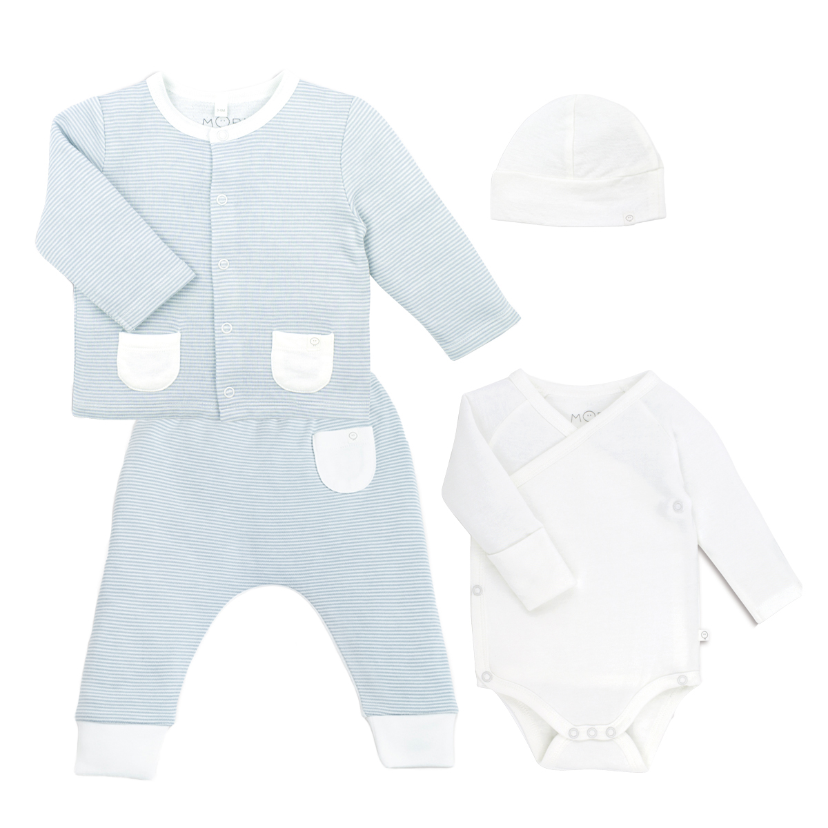 Mori organic my first outfit layette