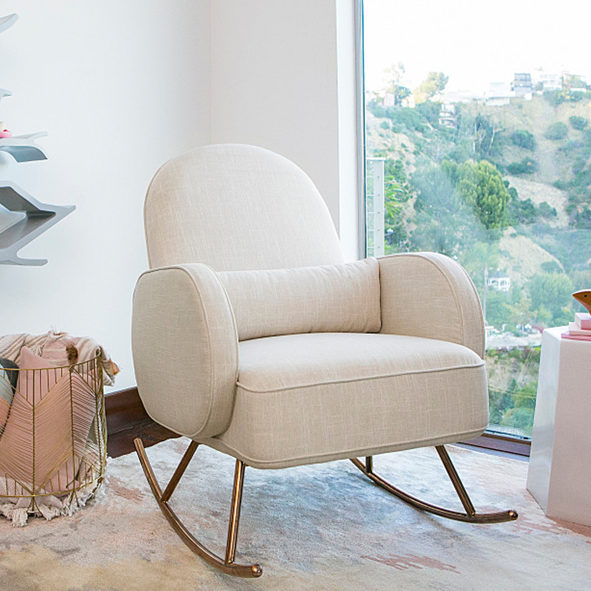 Nursery Works Compass Rocker Oatmeal
