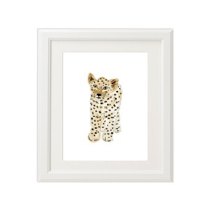 PeepsPPPrintLeopardFrame